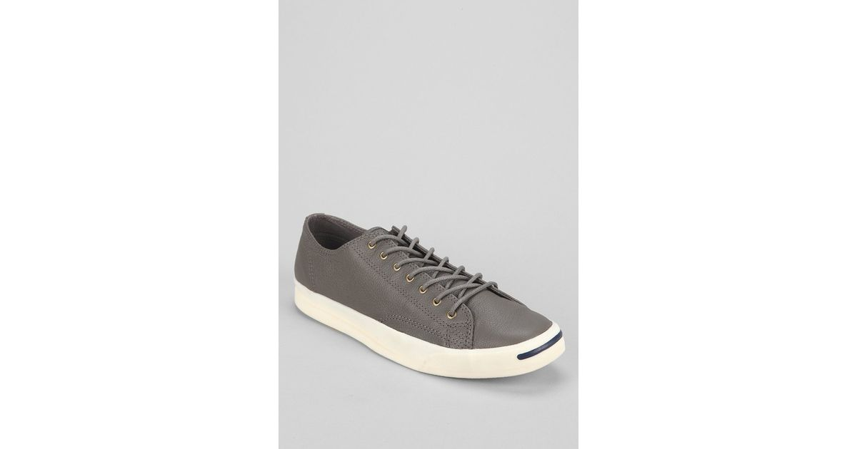 53f318ff8d1889 Lyst - Converse Jack Purcell Jeff Leather Sneaker in Gray for Men
