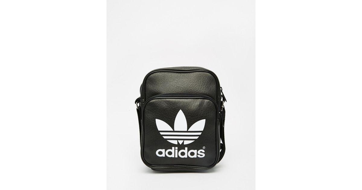 6dded495a515 Lyst - adidas Originals Classic Flight Bag Ab2734 in Black for Men