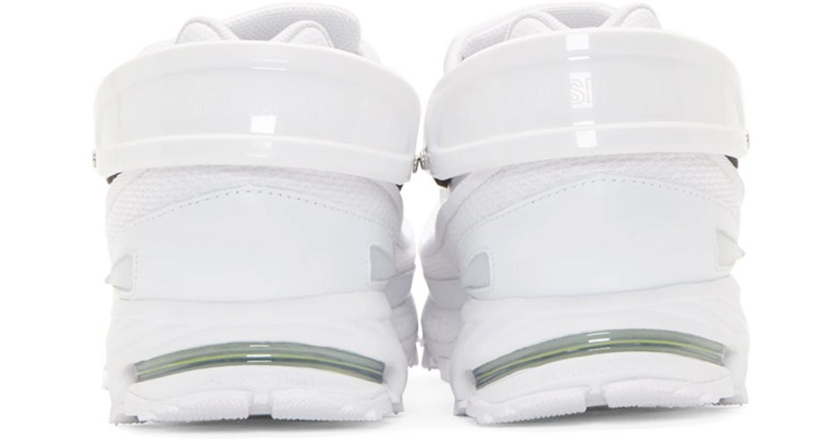 032a7876b861 Lyst - Raf Simons White Adidas By Response Trail Sneakers in White for Men