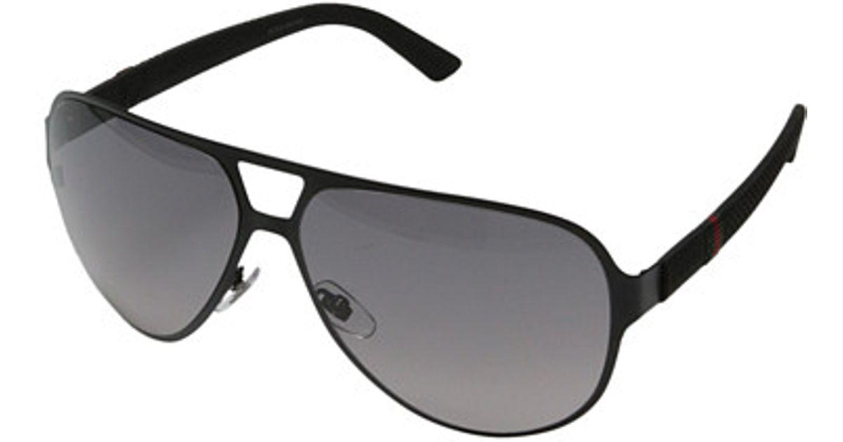 c2e296e90aff3 Lyst - Gucci Gg 2252 s in Black for Men