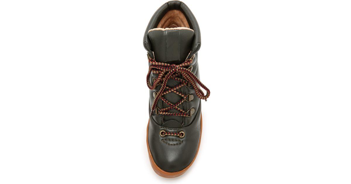 wholesale dealer ef9b0 d674f Lyst - Joes Jeans Averey Hiker Boots - Dark Olive in Green