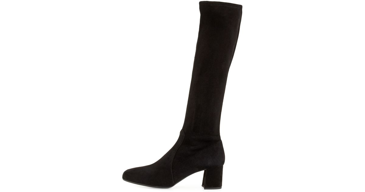 Prada Bicolor Knee-High Boots buy cheap looking for 8FDOm
