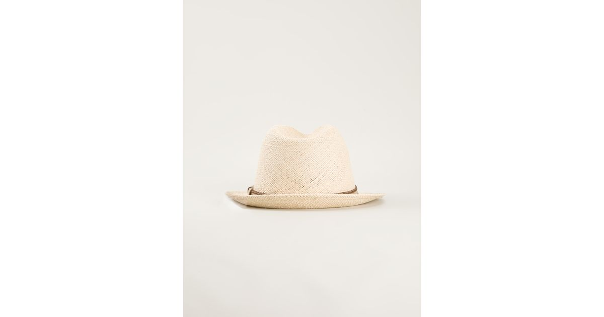 c90b147aa0f Lyst - Brioni Sun Hat in Natural for Men