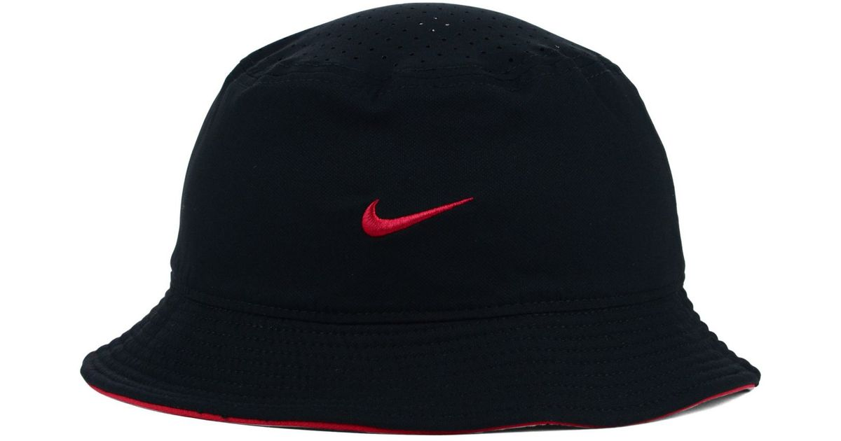 aa780292793 Lyst - Nike Arizona Diamondbacks Vapor Bucket Hat in Black for Men
