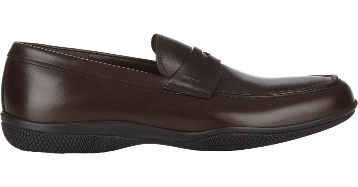 Prada Mens Shoes Flats