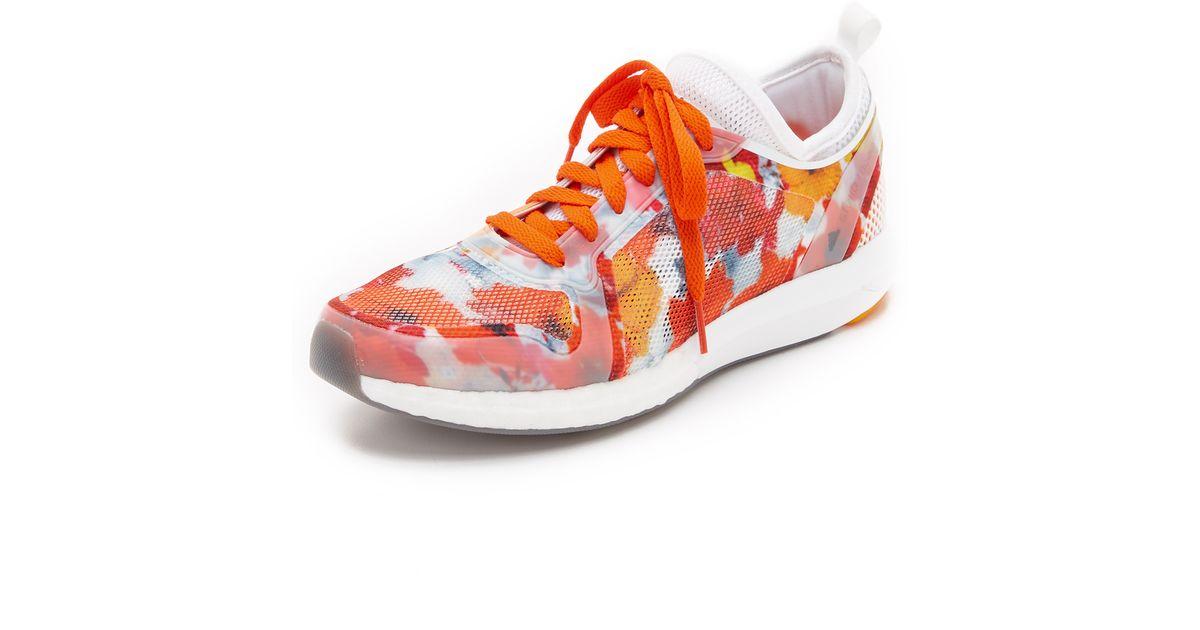 Lyst Adidas Da Stella Mccartney Cc Sonic Scarpe In Arancione