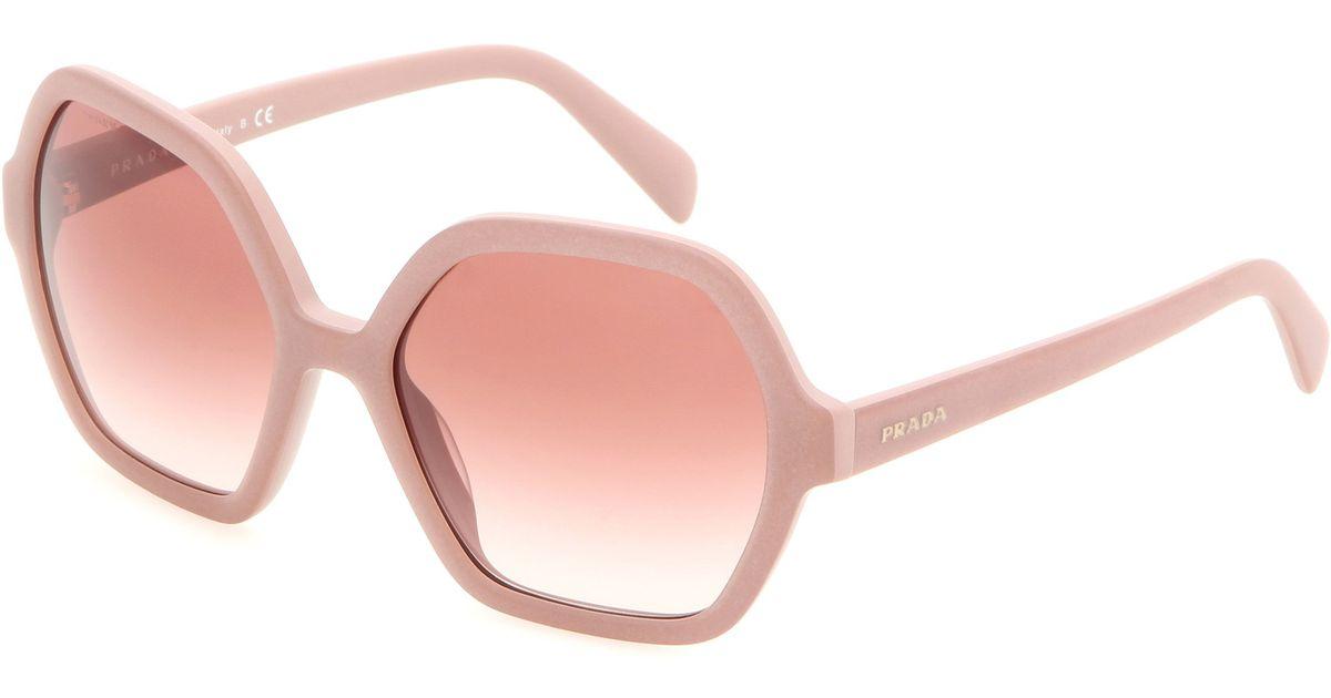 ff99ab2c62 Lyst - Prada Sunglasses in Pink
