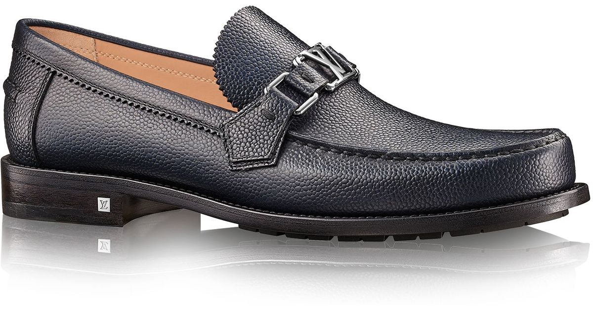Louis Vuitton Mens Loafers Spiked Mens Shoes