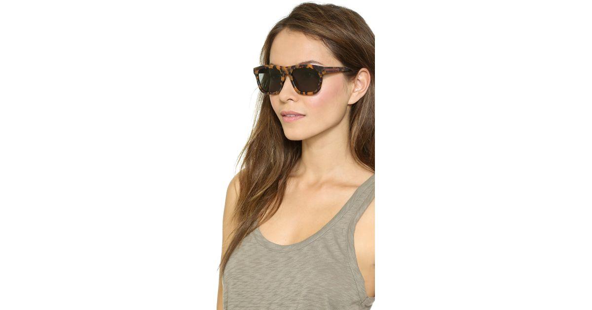 75cc672d70 Karen Walker Special Fit Deep Freeze Sunglasses in Brown - Lyst