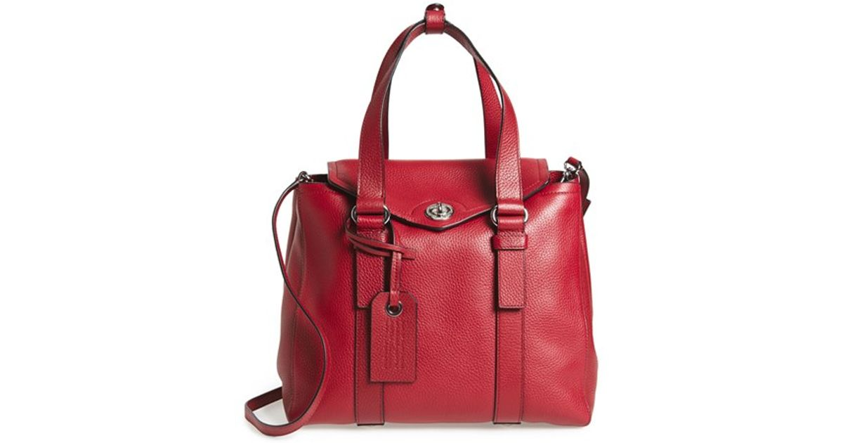 By Satchel Lyst In Red Working Marc Jacobs Girl Leather Dolly eWEDH29YI