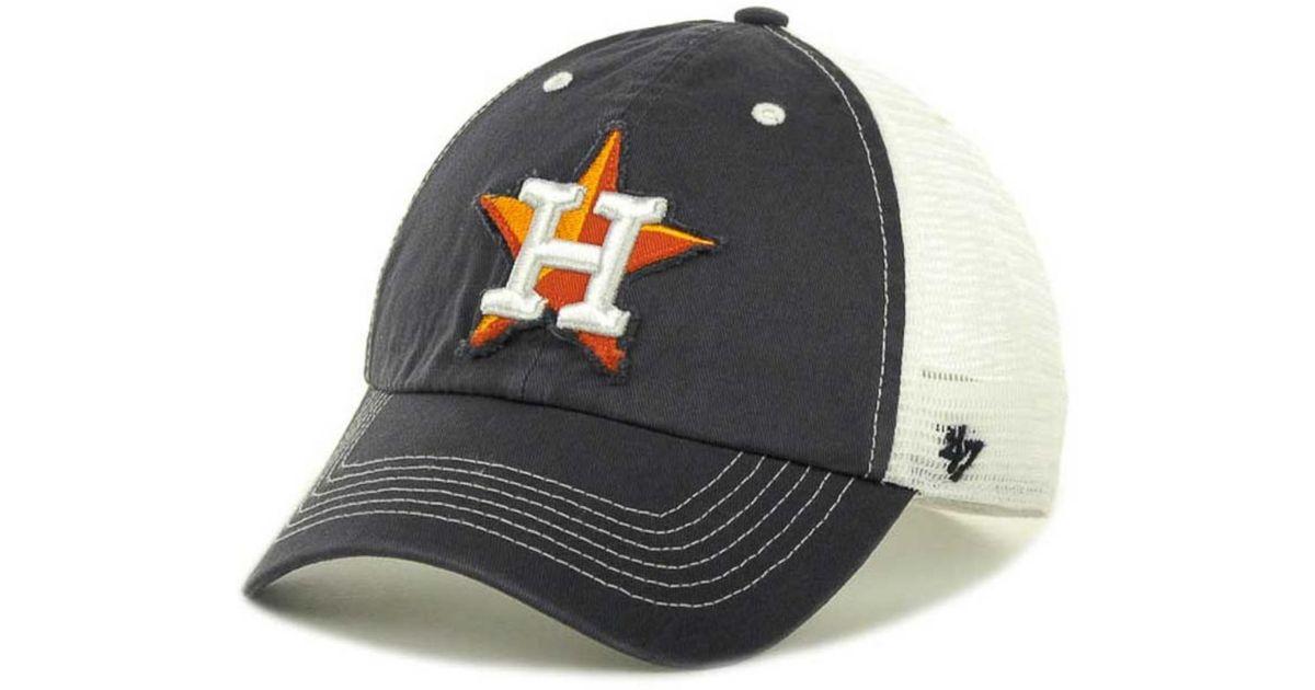Lyst - 47 Brand Houston Astros Mlb Blue Mountain Franchise Cap in Blue for  Men 70e677d939f