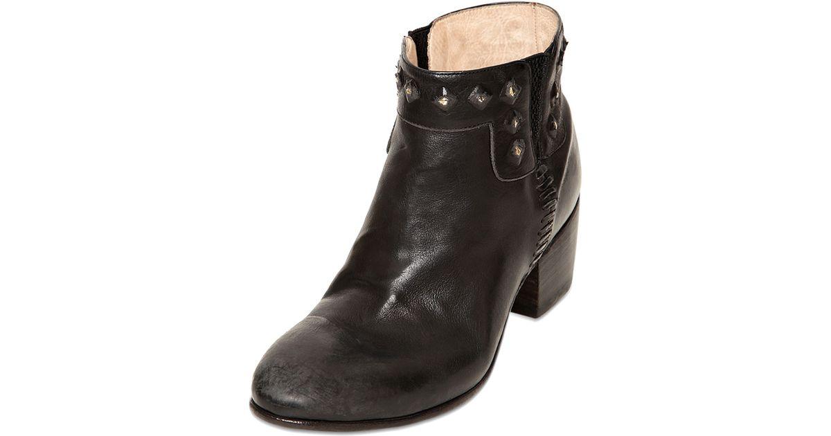 0cdfc0d24cd Alberto fasciani maya studded calfskin boots in black lyst jpeg 1200x630 Alberto  fasciani maya