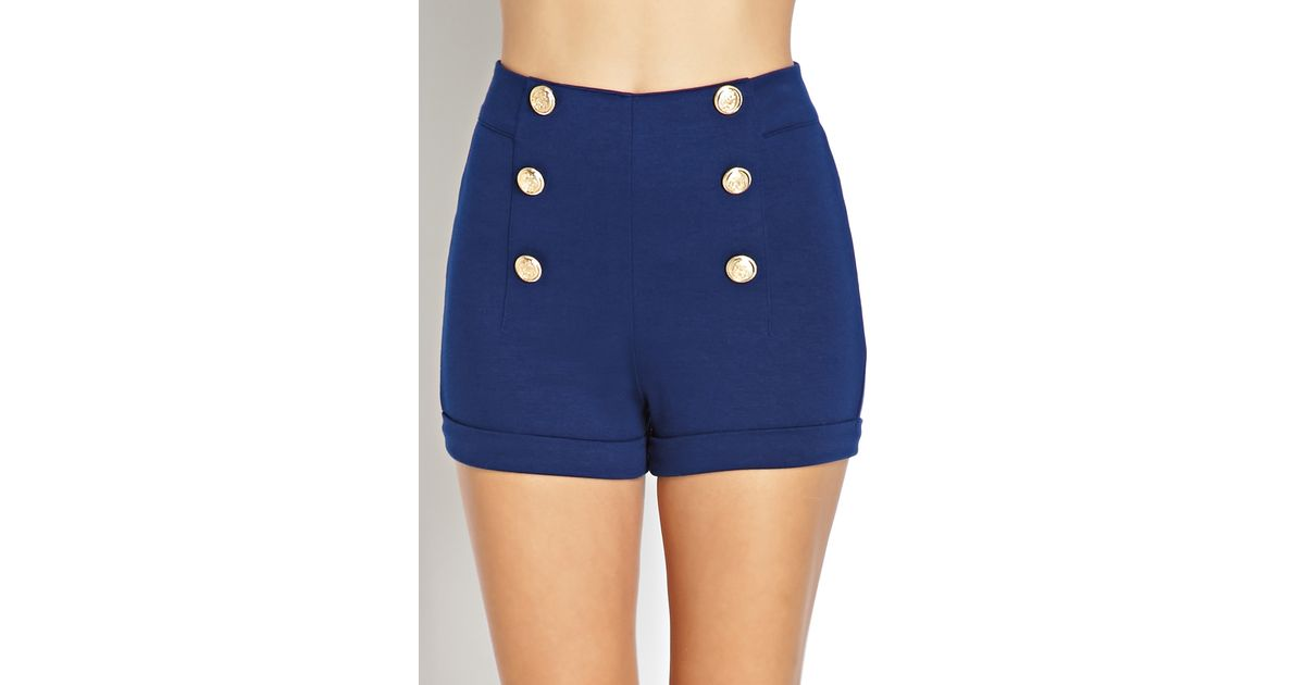 Where can you find waist high matelot shorts?
