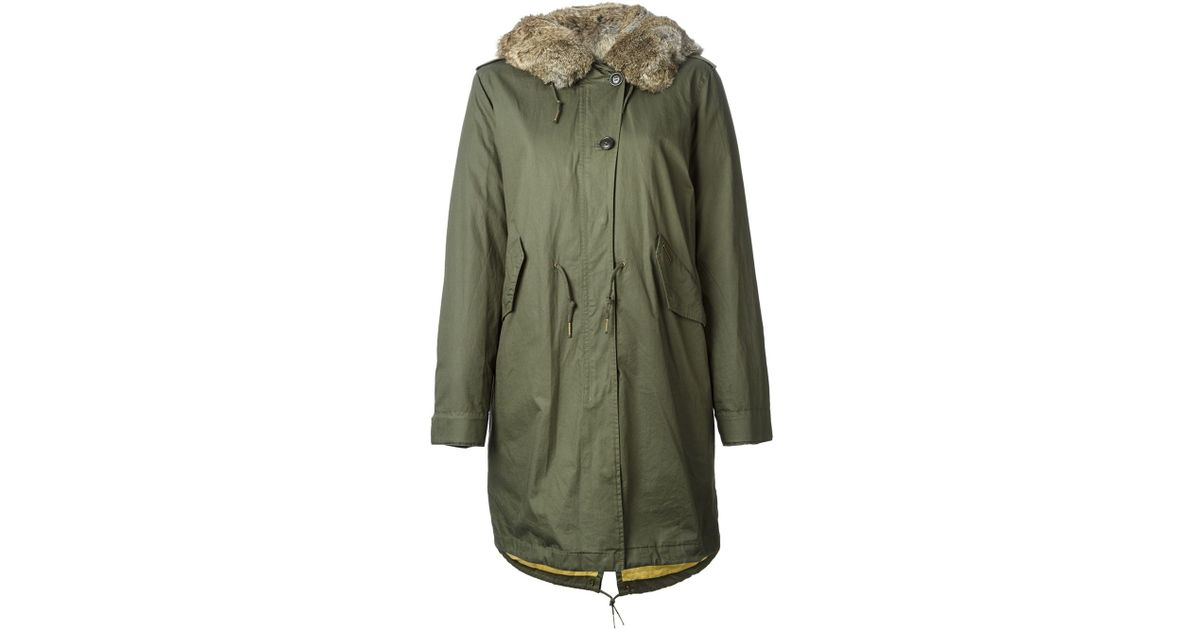 woolrich 39 w 39 s literary walk eskimo 39 parka in green lyst. Black Bedroom Furniture Sets. Home Design Ideas