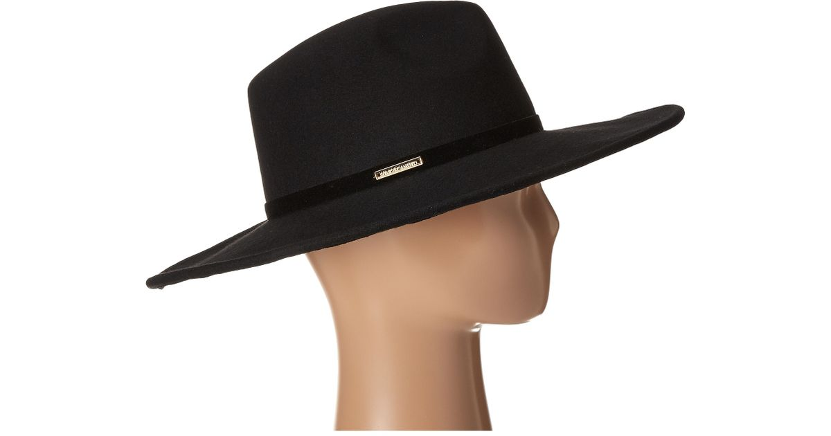 Lyst - Vince Camuto Wide Brim Hats in Black 7174a620b84