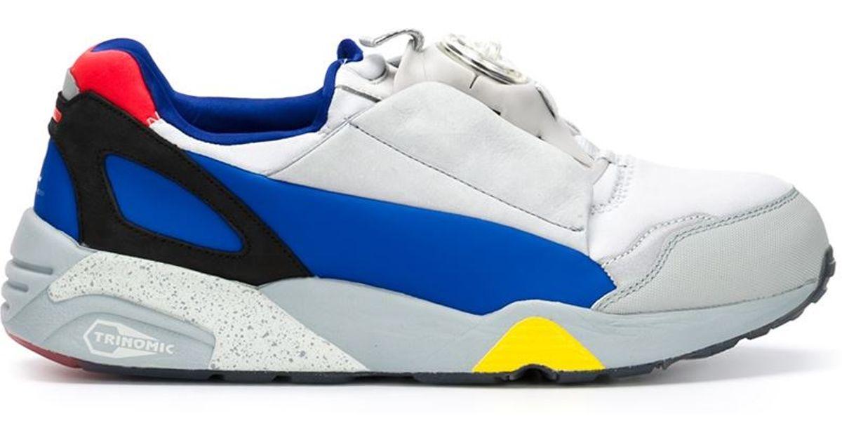 727038b7911a Lyst - Alexander McQueen X Puma  mcq Disc  Sneakers in Blue for Men