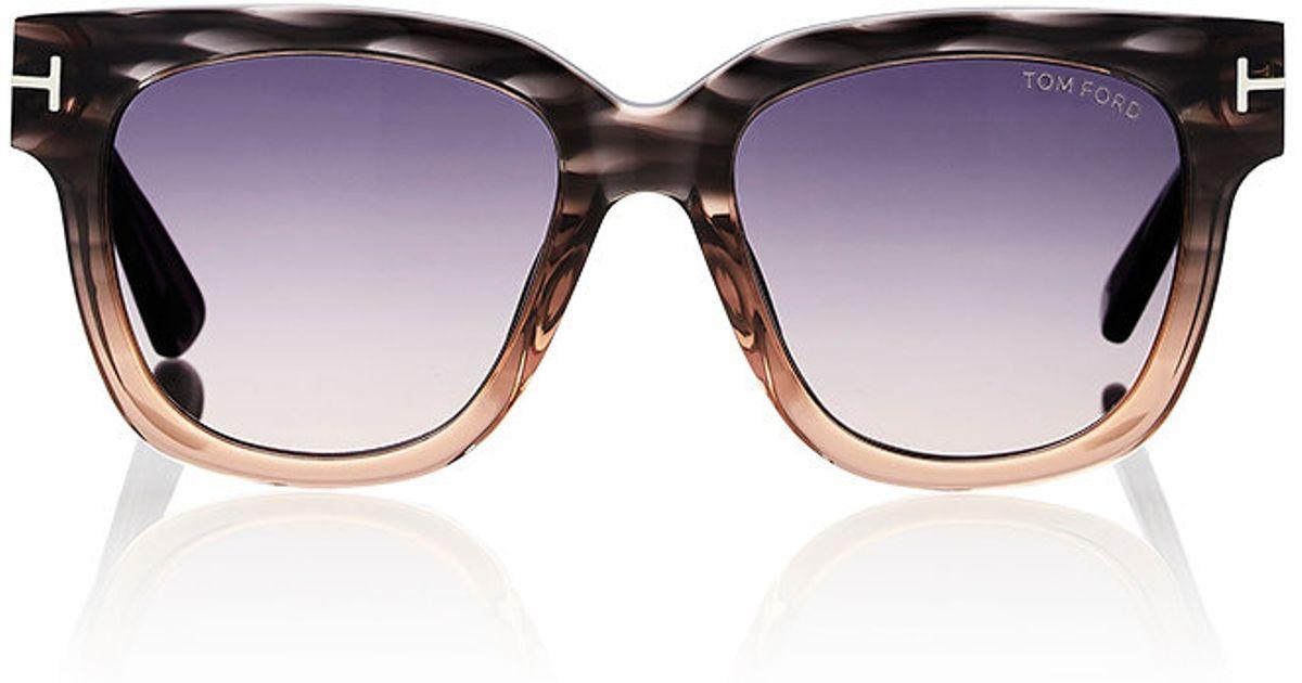 1947cebcab Tom Ford Tracy Sunglasses - Lyst