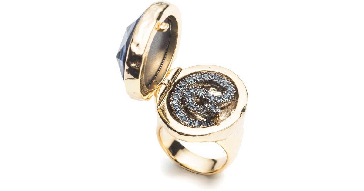 Saint Laurent Men S Serpent Ring