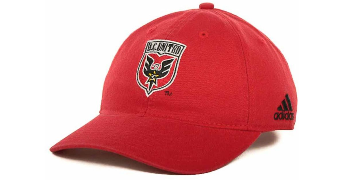 online retailer a12c0 e5c94 netherlands adidas black dc united bleached trucker cap lyst. view  fullscreen 3719f 4ab5d  release date lyst adidas dc united mls slouch cap  in red for men ...