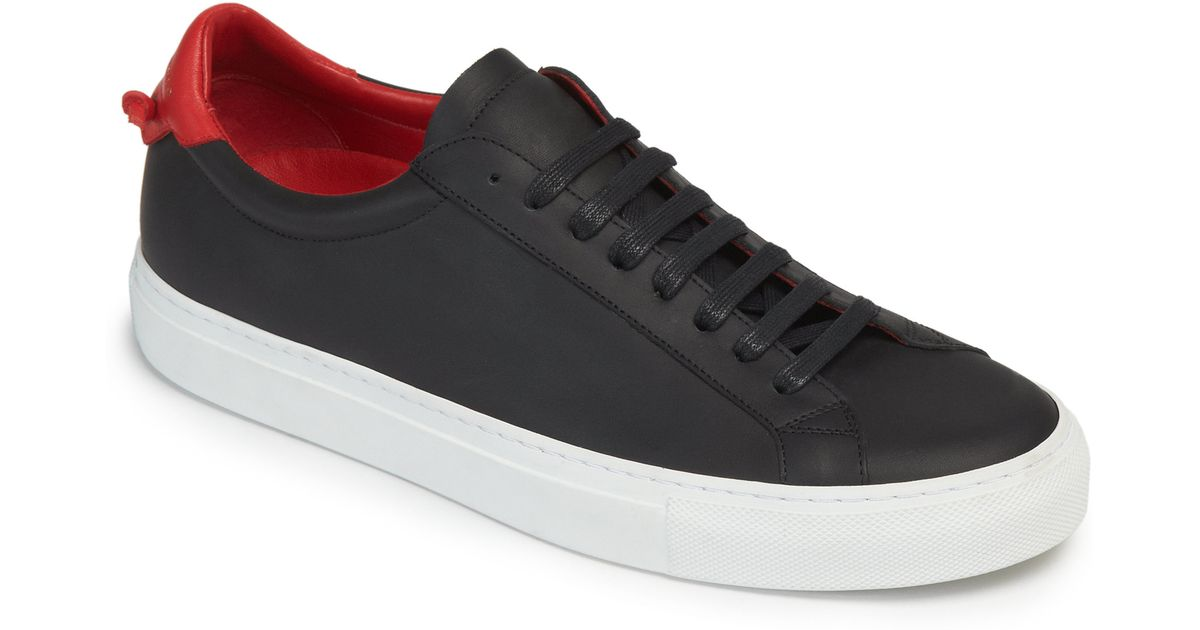 Givenchy Urban Knots Leather Sneakers In Black For Men Lyst