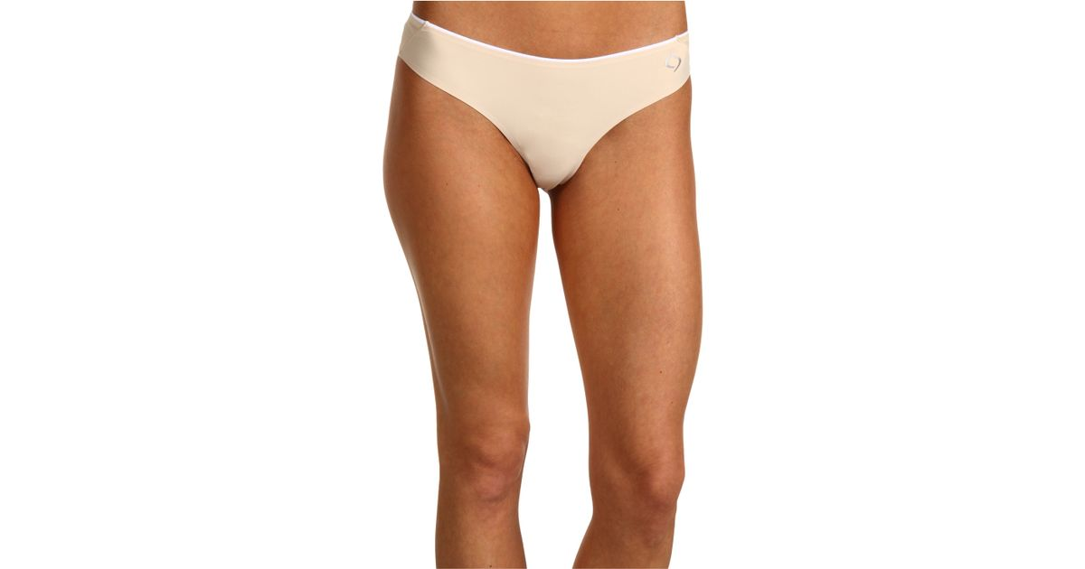 6d4a5959c5d0 Moving Comfort Workout Thong 2pair Pack in Natural - Lyst