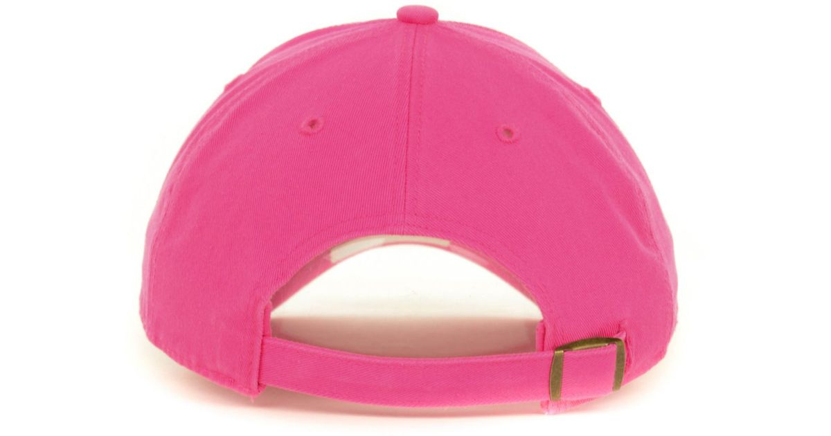 Lyst - 47 Brand Women s Green Bay Packers Berry Clean Up Cap in Pink 9e6a9e367991