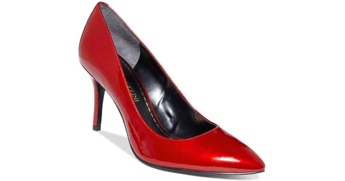 811605aef1f Enzo Angiolini - Red Callme Pumps - Lyst