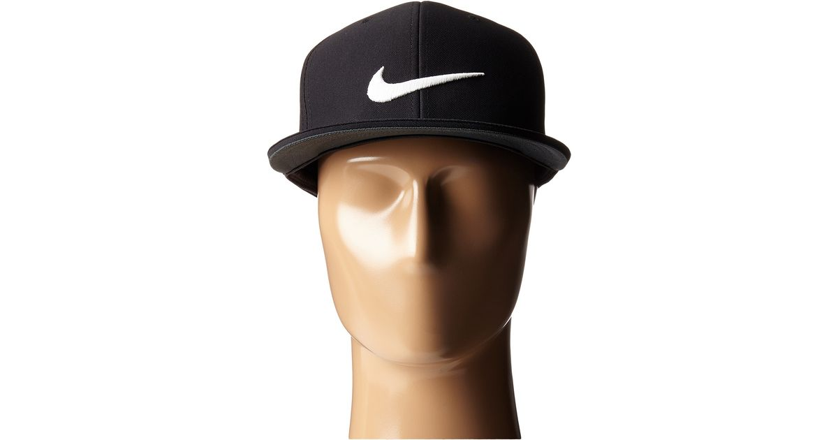 0bee2f9a81 Nike True Tour Cap in Black - Lyst