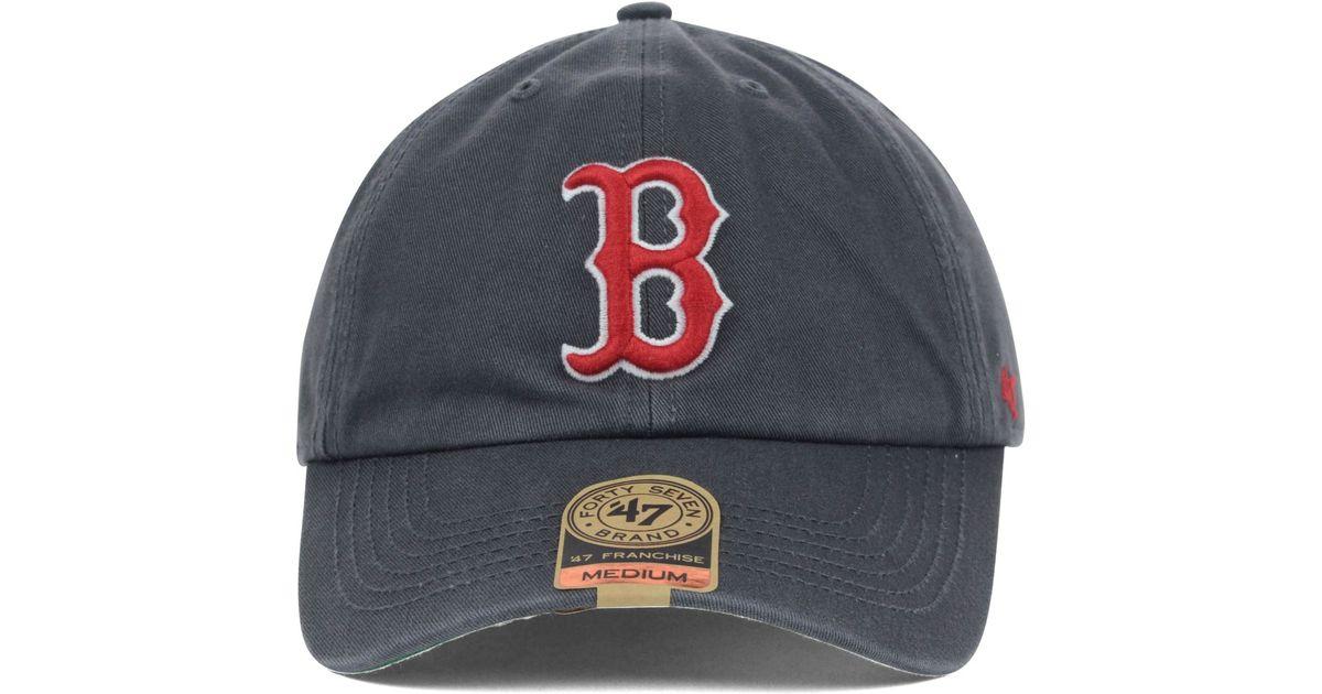 f7002a3b ... reduced lyst 47 brand boston red sox mlb hot corner cap in gray for men  803c2