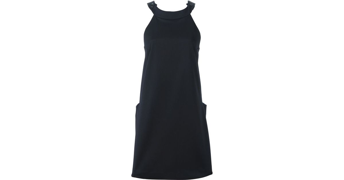 Hache black dress