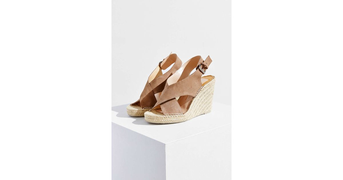 159679e7591 Lyst - Dolce Vita Sovay Wedge Sandal in Brown