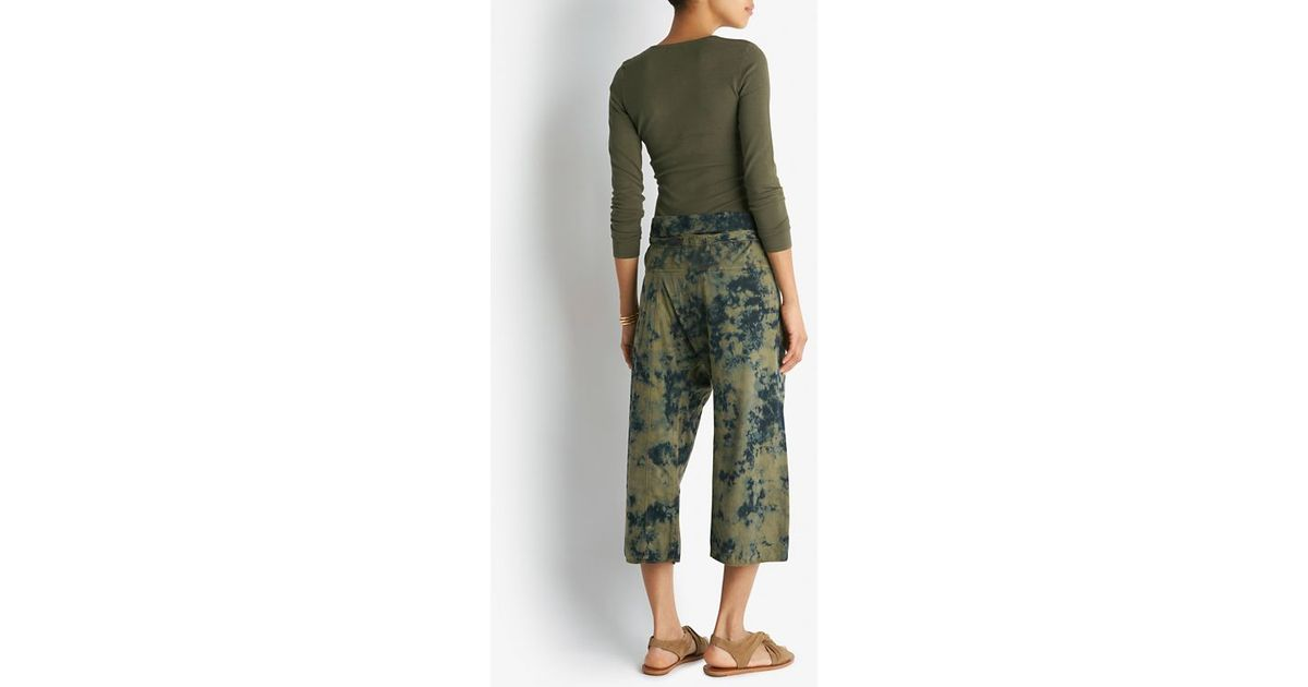 Lyst - Ronny Kobo Henley Long Sleeve Bodysuit in Green 551b8c189