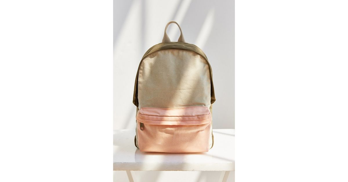 f59fff4bd373 BDG Canvas Backpack in Pink - Lyst