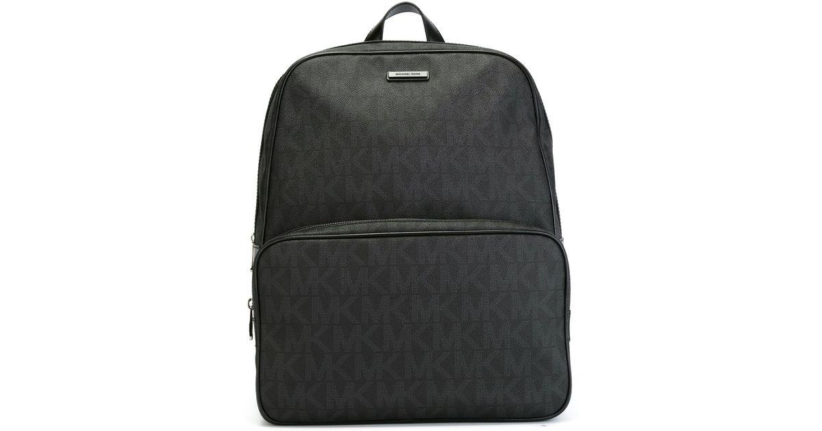 0d0d4ae4768b07 Michael Kors 'jet Set Logo' Backpack in Black for Men - Lyst