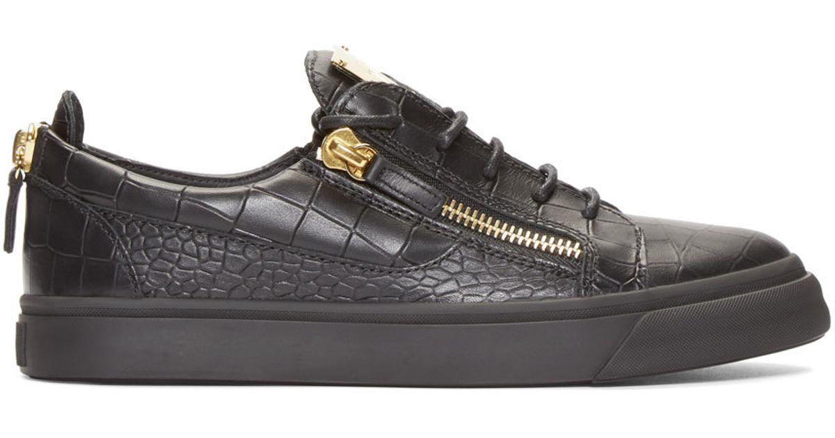 Black May London Gigas Sneakers Giuseppe Zanotti CzbyL