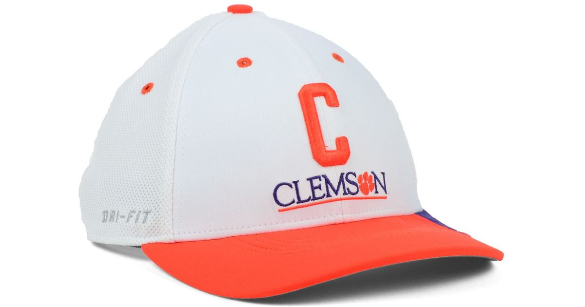ea81f087705 Lyst - Nike Clemson Tigers Ncaa Conference Swf Cap in White for Men