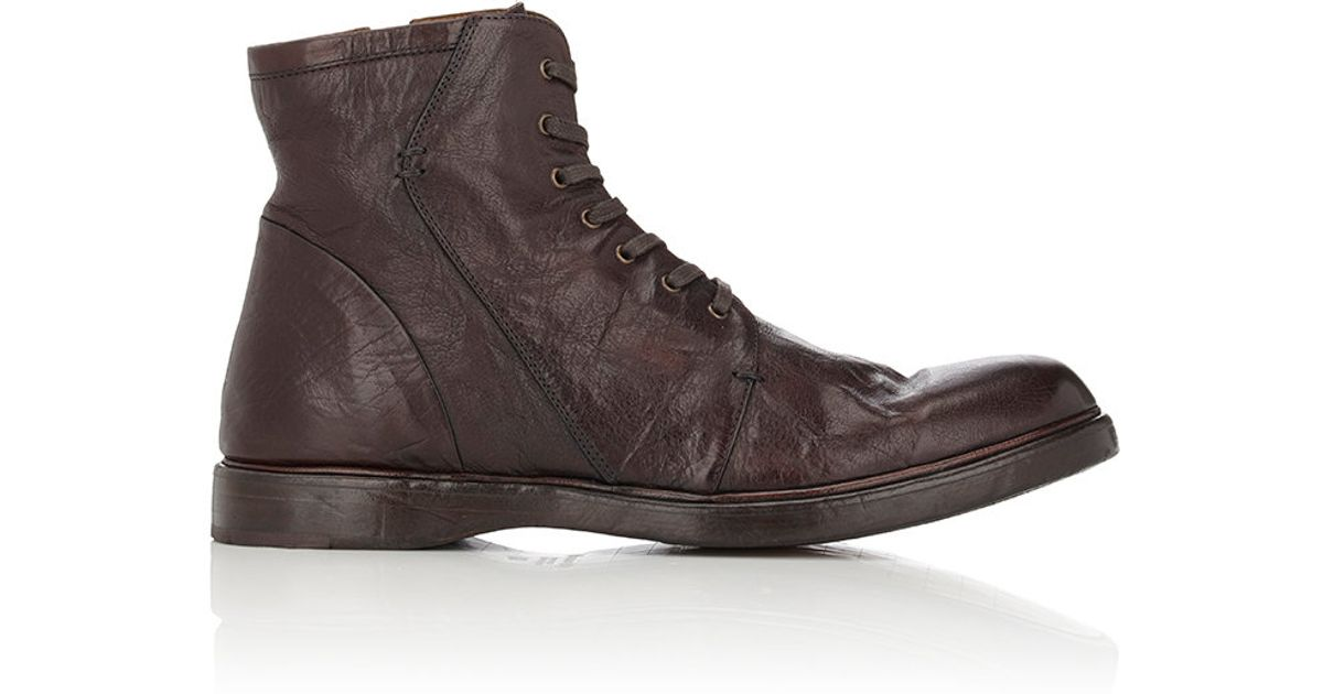 Outlet Very Cheap Mens Leather Hiking Boots Elia Maurizi Collections Sale Online 2018 New For Sale Discount 100% Original Sale Many Kinds Of MTMNyc