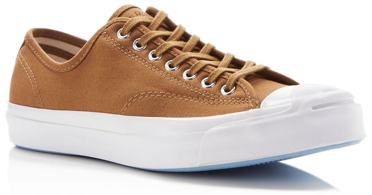 d4b5de7dbf36 Lyst - Converse Jack Purcell Signature Jungle Cloth Sneakers in Brown for  Men