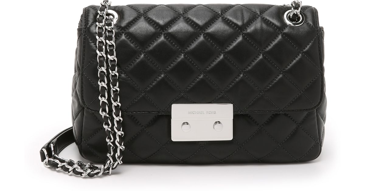 Michael Kors Aito Laukku : Michael kors sloan large chain shoulder bag