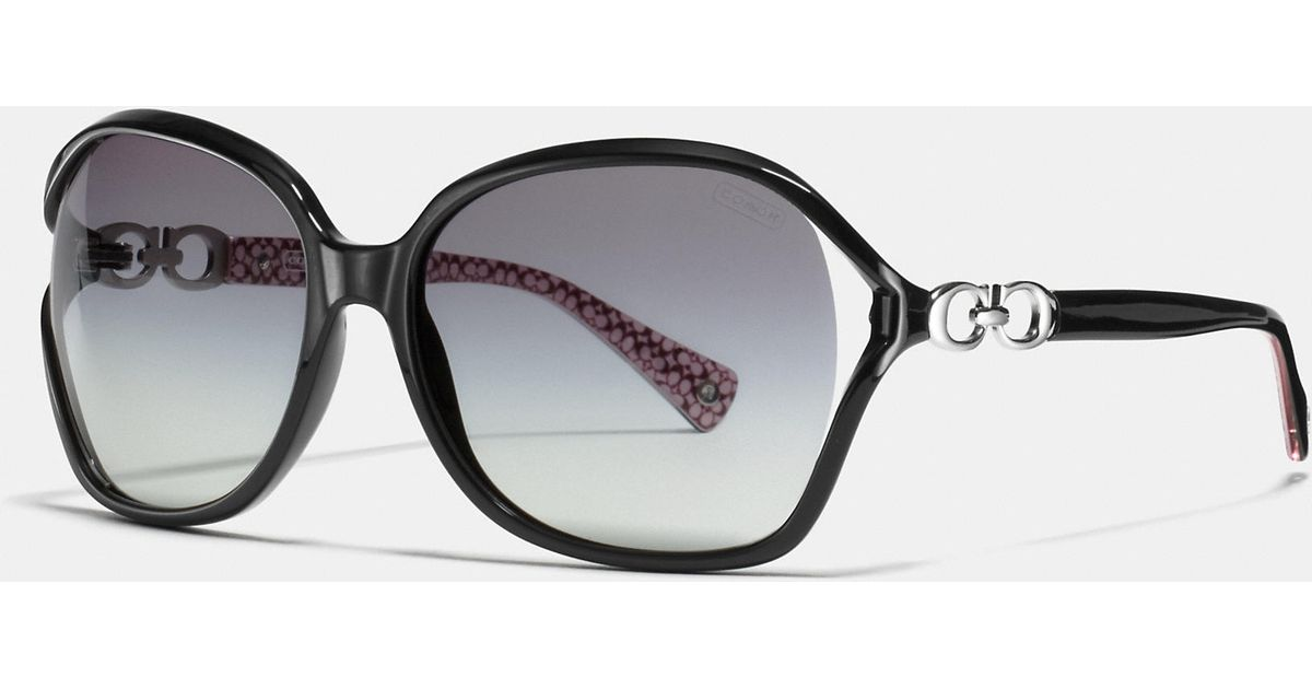 1e5c55455cc0 ... new style lyst coach natasha sunglasses in black bd441 48e77