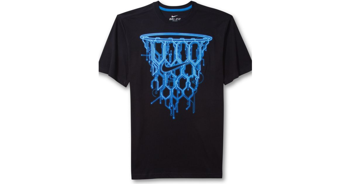 t-shirt nike basket