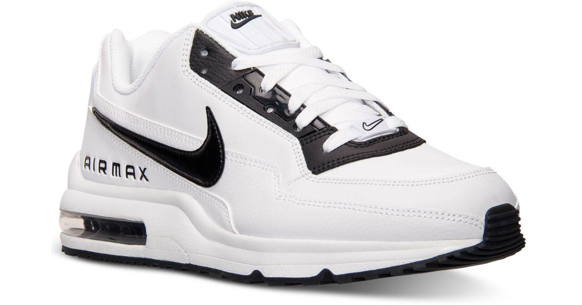 Lyst - Nike Men S Air Max Ltd 3 Running Sneakers From Finish Line in White  for Men 4da2907839