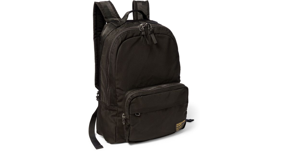 Polo Ralph Lauren Military Nylon Dome Backpack in Black for Men - Lyst 45c5289ee4e84