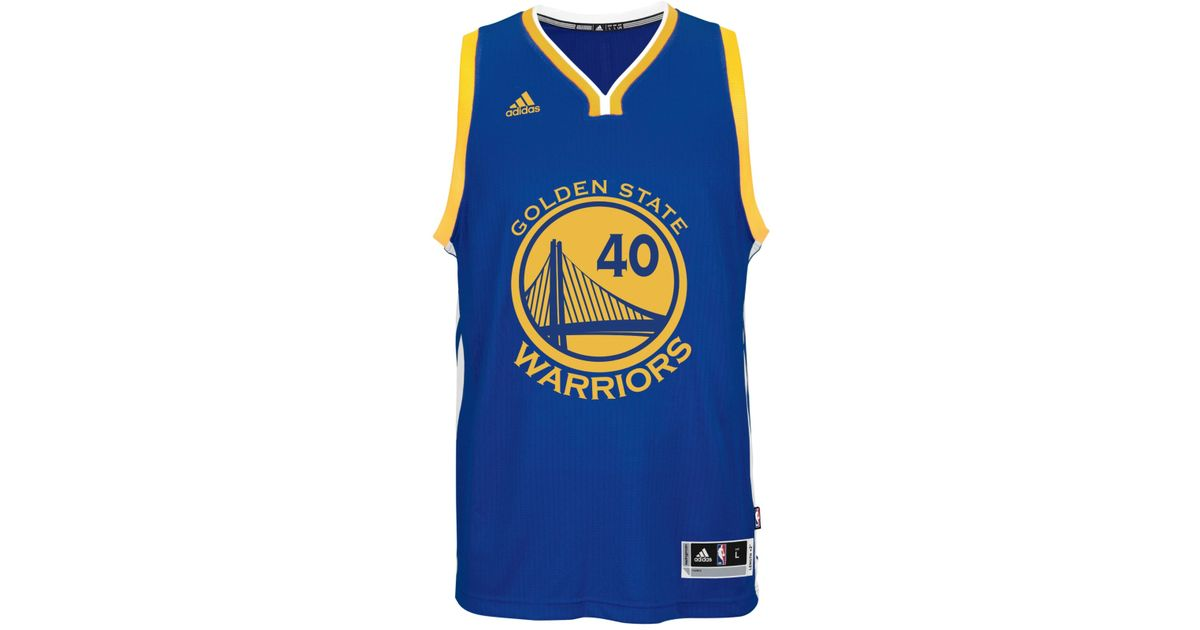 e3d844924 Lyst - adidas Men S Harrison Barnes Golden State Warriors Swingman Jersey  in Blue for Men