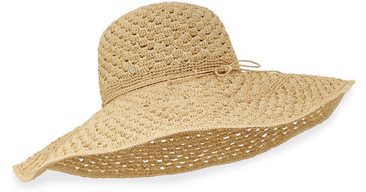 b89836889e8032 Helen Kaminski Jordyn Raffia Sun Hat in Natural - Lyst