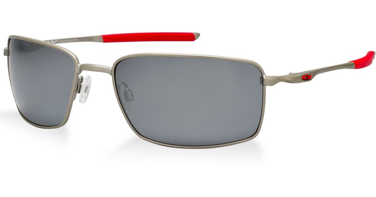 04c2491c266bc Lyst - Oakley Oo4075 Square Wire in Metallic for Men