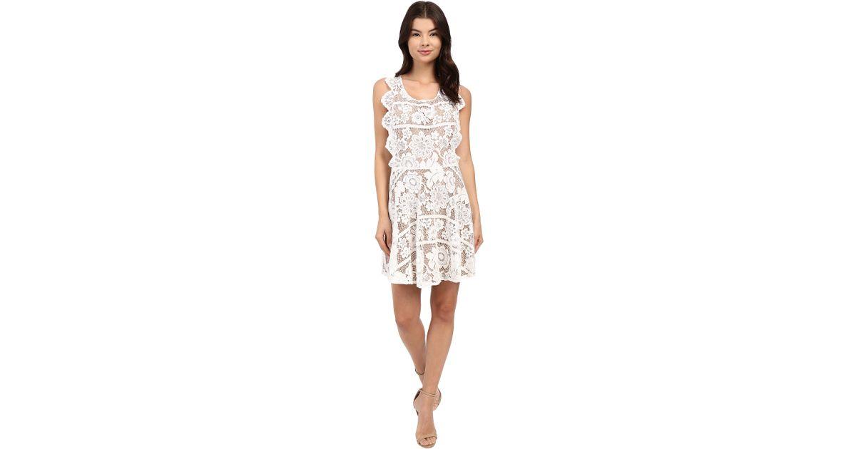 91467ab7f8 Lyst - For Love   Lemons Gianna Mini Dress in Metallic