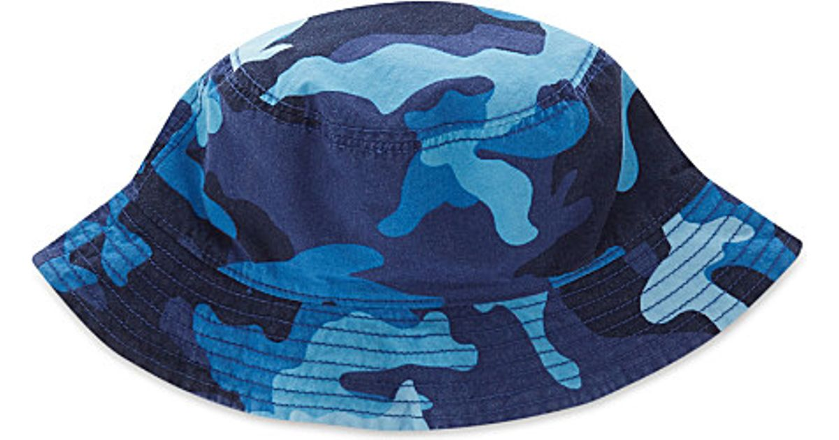 84aeac7e Pink Pony Reversible Bucket Hat in Blue for Men - Lyst