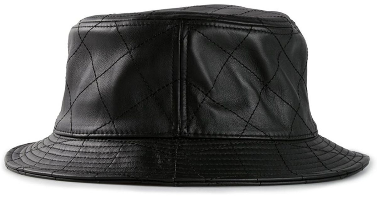 23c99773 Stampd Quilted Bucket Hat in Black for Men - Lyst
