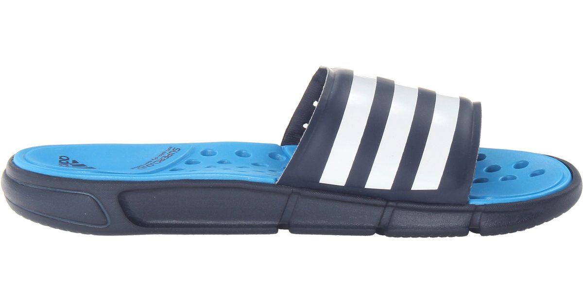 8f2b32b5614 Lyst - adidas Climacool Revo 3 Slide in Blue for Men